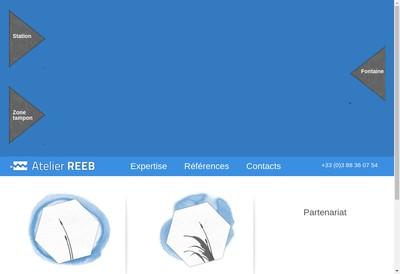 Site internet de Atelier Reeb