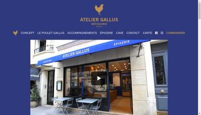 Site internet de Atelier Gallus