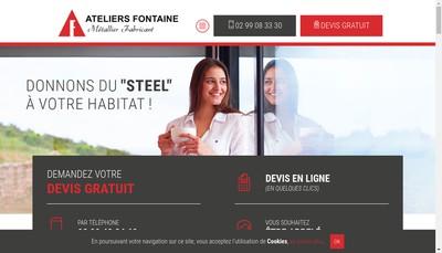Site internet de Societe Exploitation Ateliers Fontaine