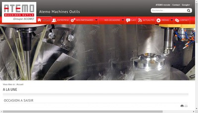 Site internet de Atemo