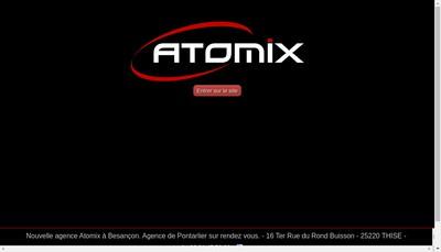 Site internet de Atomix-Sonoboutique