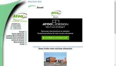 Site internet de Atoo'Bois