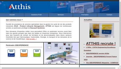 Site internet de Atthis