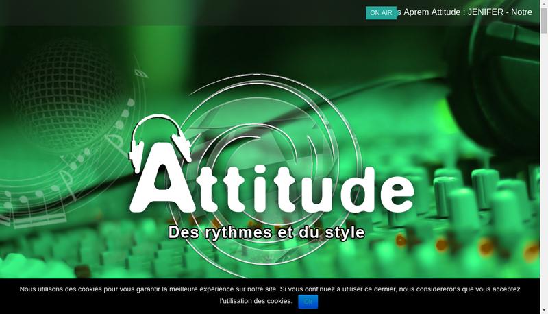 Capture d'écran du site de Culture Sport Attitude