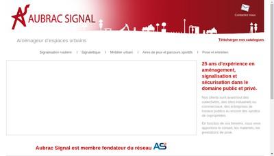 Site internet de Aubrac Signal