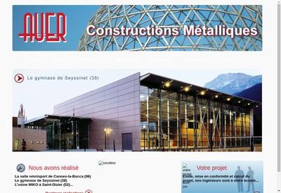 Site internet de Constructions Metalliques Auer