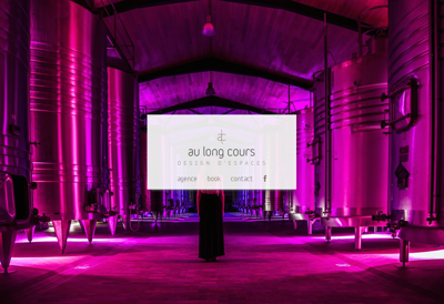 Capture d'écran du site de Au Long Cours