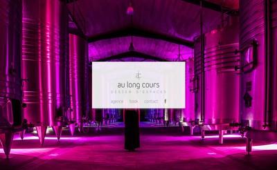 Site internet de Au Long Cours