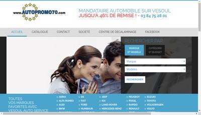 Site internet de Vesoul Auto Service
