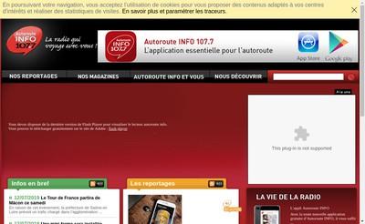 Site internet de Autoroute-Info