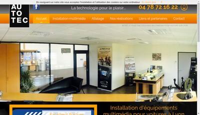 Site internet de Autotec