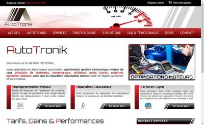 Site internet de Autotronik