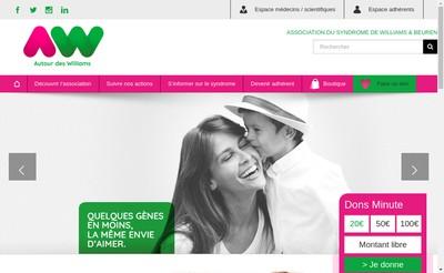 Site internet de Autour des Williams