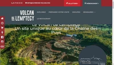 Site internet de Volcan de Lemptegy