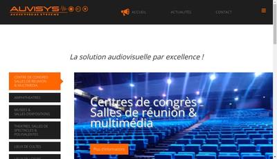 Site internet de Auvisys