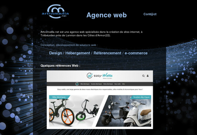 Capture d'écran du site de Hotel Restaurant du Pont