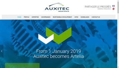 Site internet de Artelia Industrie