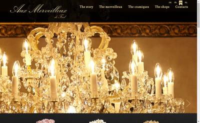 Site internet de Aux Merveilleux Lorraine