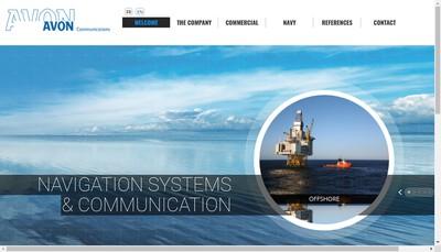Site internet de Avon Communications