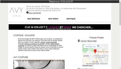 Site internet de Avy