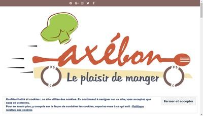 Site internet de Axebon
