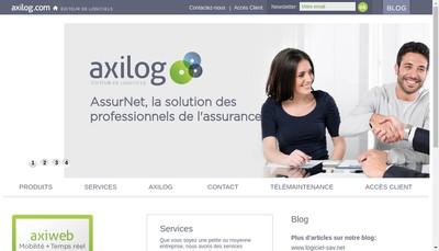 Site internet de Axilog