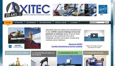 Site internet de Axitec