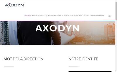Site internet de Axodyn