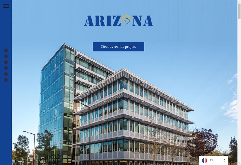 Capture d'écran du site de Arizona Asset Management