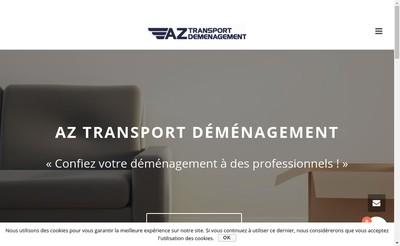 Site internet de Az Transport Demenagement