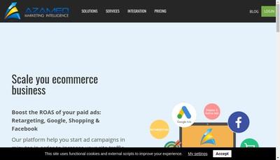 Site internet de Azameo