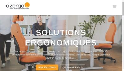 Site internet de Azergo