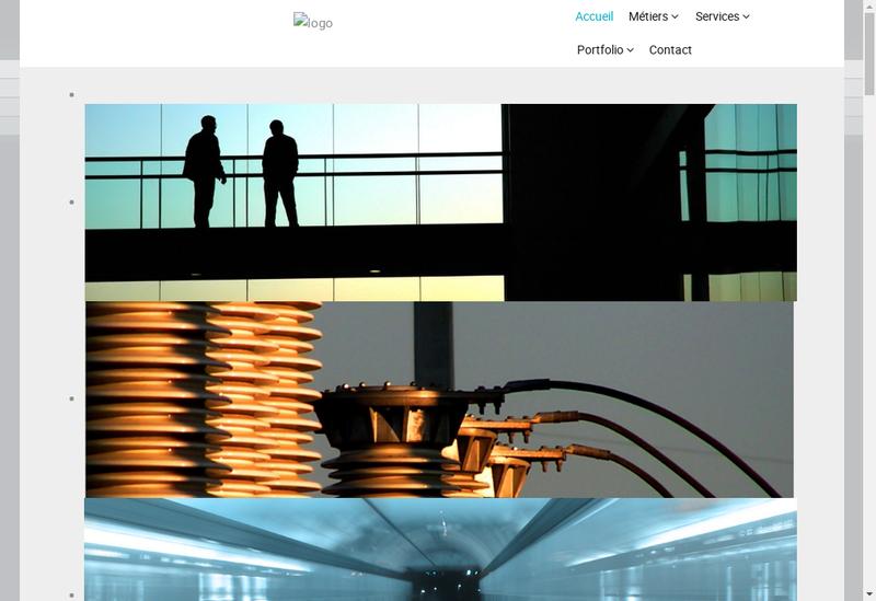 Capture d'écran du site de B2E