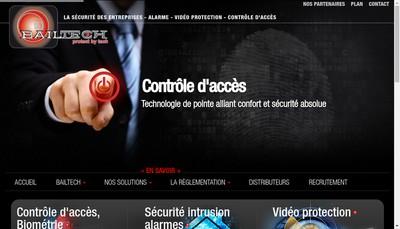 Site internet de Bailtech