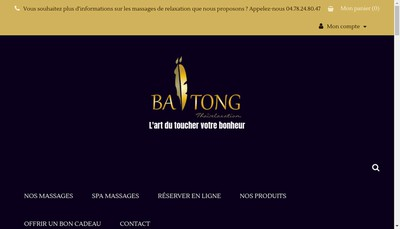 Site internet de Baitong Thairelaxation