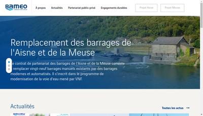 Site internet de Bameo