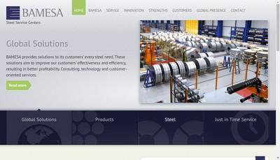 Site internet de Bamesa France