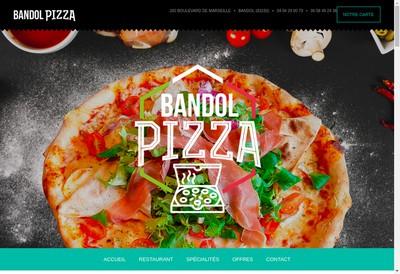 Site internet de Bandol Pizza