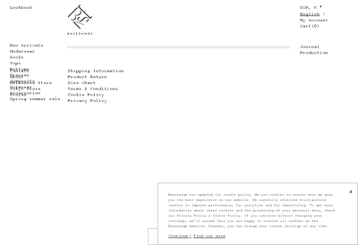 Capture d'écran du site de Base Range