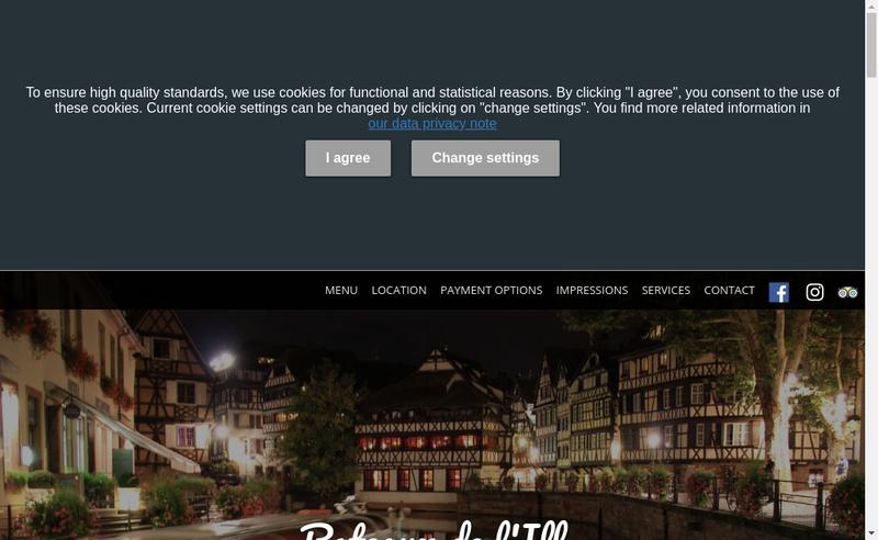 Capture d'écran du site de Bateaux de l'Ill