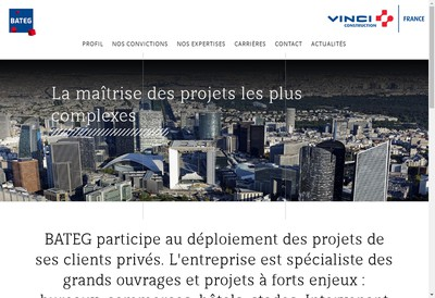 Site internet de Bateg