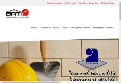 Site internet de Bati 9