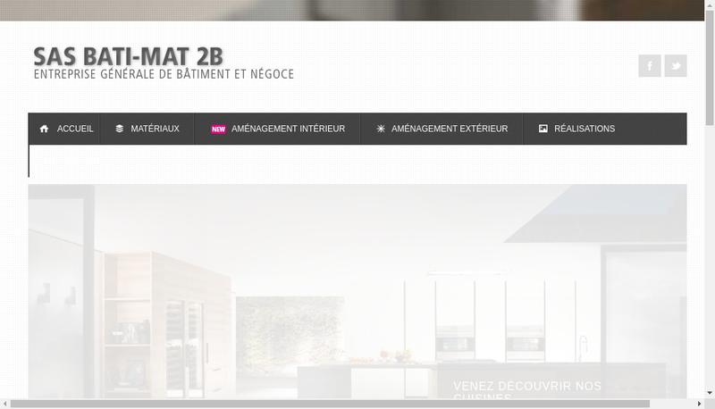 Capture d'écran du site de Bati Mat 2B