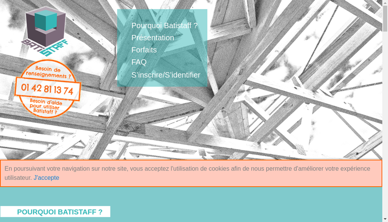 Capture d'écran du site de Collabsharing