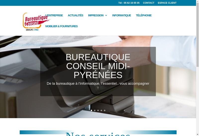 Site internet de BCMP