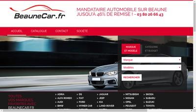 Site internet de Elite Car Group
