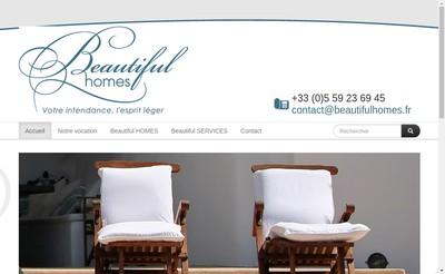 Site internet de Beautiful Services