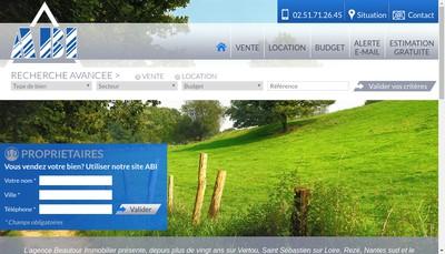 Site internet de Agence Beautour Immobilier