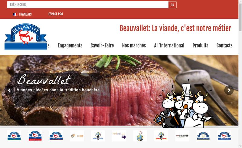 Capture d'écran du site de Amural Productions