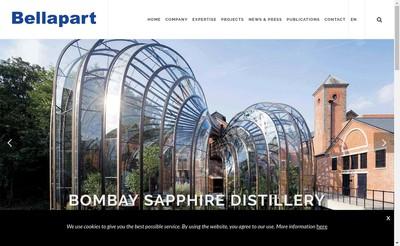Site internet de Bellapart France
